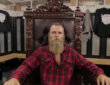 "Virale Werbung des Online-Shops ""Dollar Beard Club"""