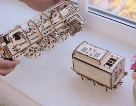 """Virale Idee """"Selbstfahrende mechanische 3D-Modelle erhält über 24.000 US-Dollar Unterstützung"""""""