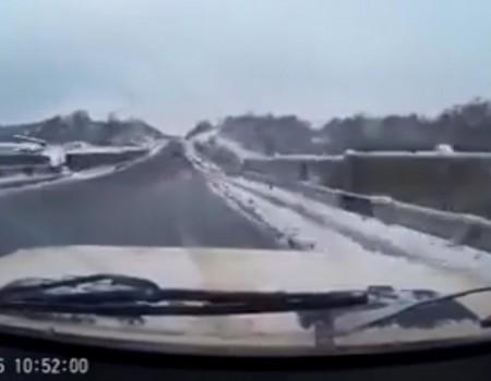 """Virales Video """"Autounfälle im Winter wird über 21 Millionen Mal angeklickt"""""""