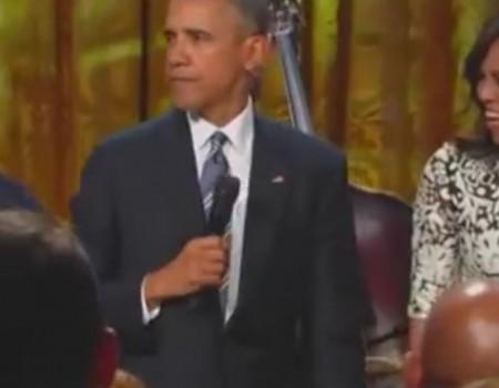 """Virales Video """"Barack Obama singt Song von Ray Charles"""" erreicht mehr als 2,3 Millionen Klicks"""