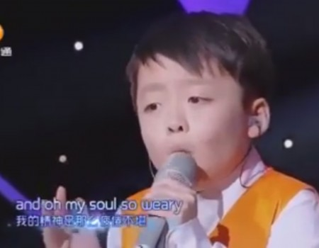 """Virales Video """"Junge Gesangstalente im chinesischen Fernsehen"""""""