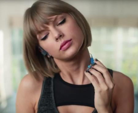 """Virale Werbung """"Taylor Swift für Apple"""""""
