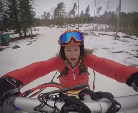 """Virales Video """"Skifahren mit Motor als Winterspaß"""""""