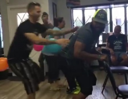 "Virales Video ""Luftballon-Party"""