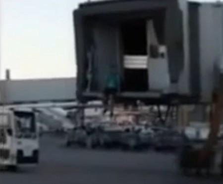 "Virales Video ""Flugzeug verpasst"""