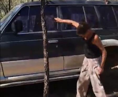 """Virales Video """"Wie man sein Auto ohne Schlüssel aufbekommt"""""""