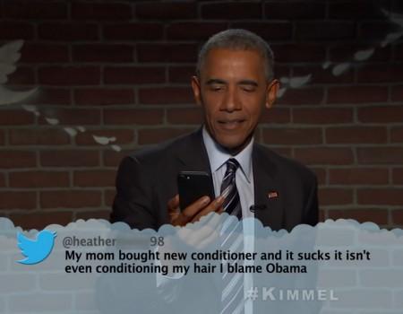 """Virales Video """"Barack Obama liest gemeine Tweets"""""""
