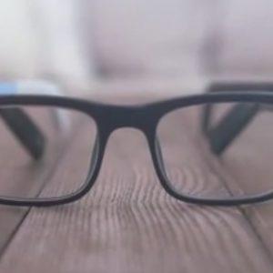 "Virale Idee ""Intelligente Brille namens Vue"""