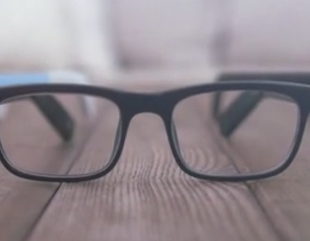 "Virale Idee ""Intelligente Brille namens Vue"""