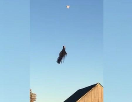 "Virales Video ""Halloween-Drohne"""