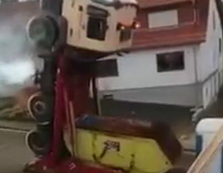 """Virales Video """"Optimus Prime im echten Leben"""""""
