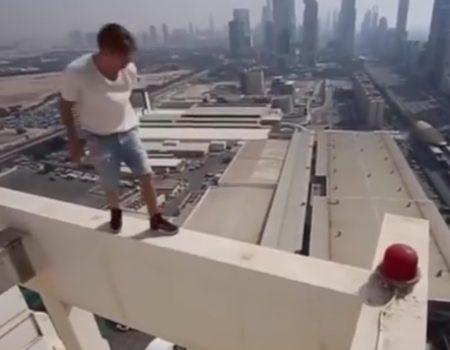 """Virales Video """"Nichts für Menschen mit Höhenangst"""""""