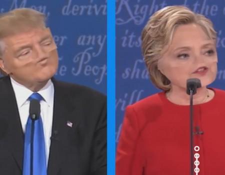"""Virales Video """"Die US-Wahlen 2016 über einen Videofilter betrachtet"""""""