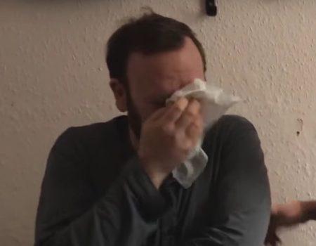 """Virales Video """"Vierfacher Vater emotional berührt von ein wenig Stille"""""""