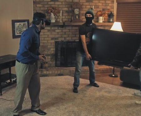 """Virales Video """"Die Tücken von Virtual-Reality-Brillen"""""""