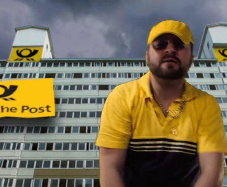 """Virales Video """"Die Antwort der Deutschen Post auf Bushido's Tweet auf Twitter"""""""