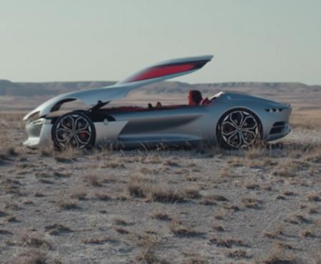 """Virale Werbung """"Renault stellt mit Trezor erstes Auto ohne Türen vor"""""""